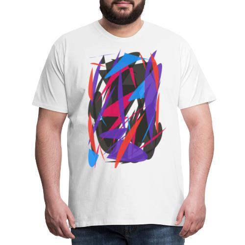 ABSTRAIT FORMES COLORS - T-shirt Premium Homme