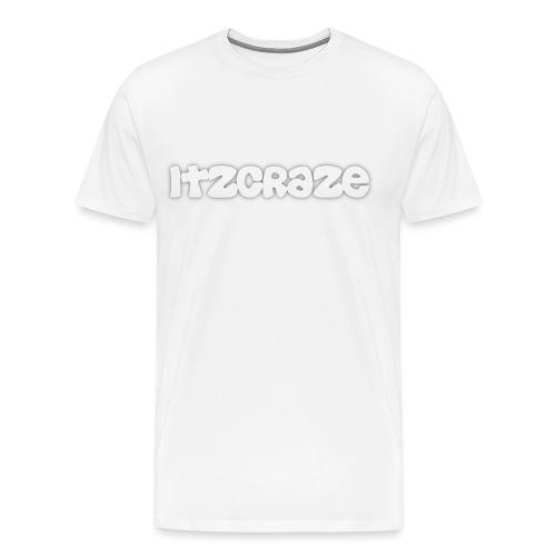 itzcraze apparel white png - Men's Premium T-Shirt