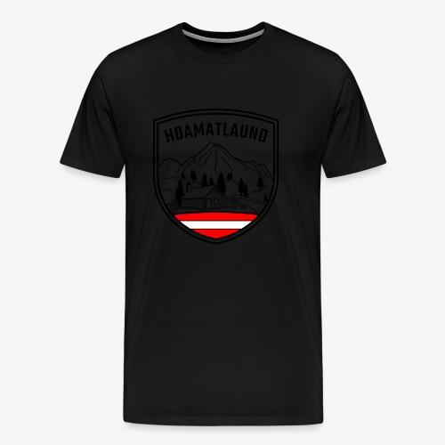 hoamatlaund österreich - Männer Premium T-Shirt