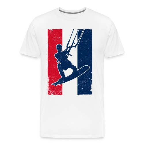 Kitesurfer France - Männer Premium T-Shirt