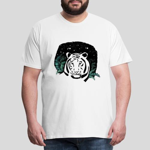 Universum Tiger - Männer Premium T-Shirt