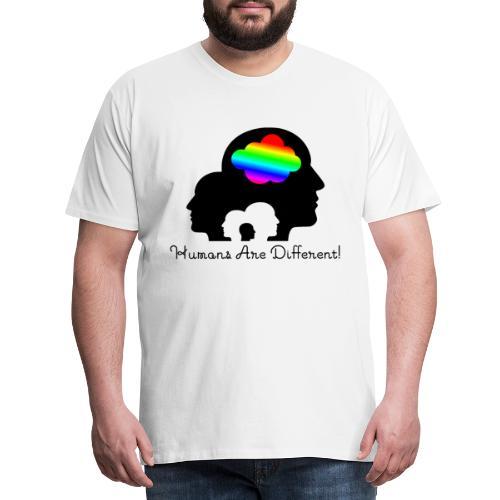 Humans are different Bunt - Männer Premium T-Shirt