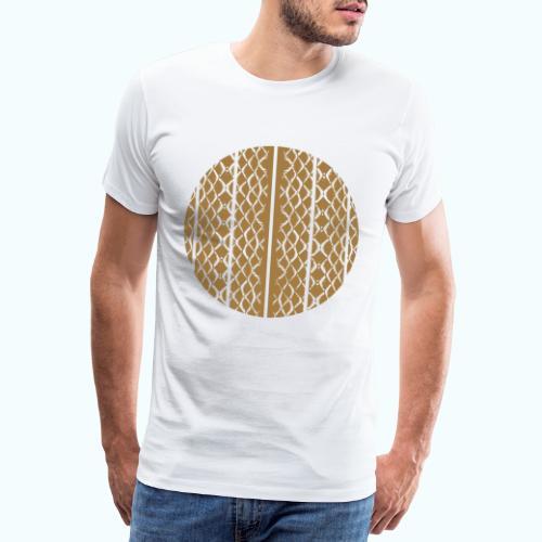 Geometric mermaid shed - Men's Premium T-Shirt
