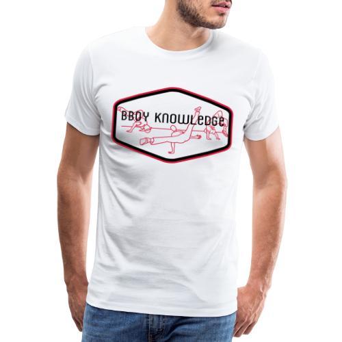 Bboy Knowledge 1st generation Logo - T-shirt Premium Homme