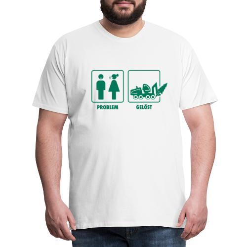 Forst   Problem gelöst - Männer Premium T-Shirt