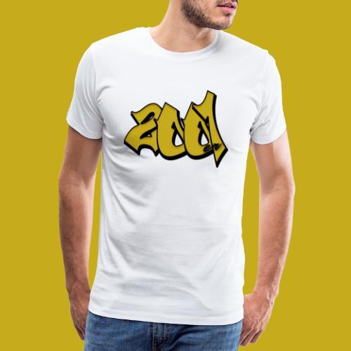 2001er Logo - Männer Premium T-Shirt