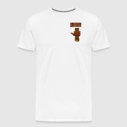 DigginChickin - Men's Premium T-Shirt