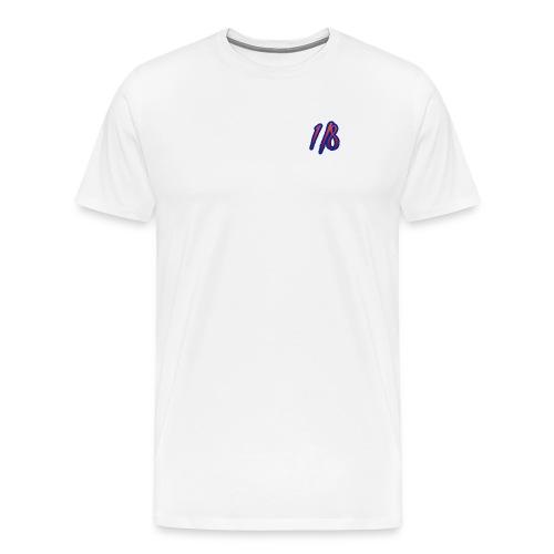 1/8 Birth Tee White - Men's Premium T-Shirt