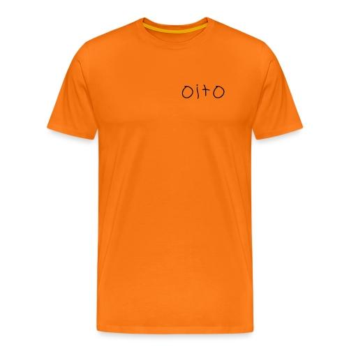oito - Premium-T-shirt herr