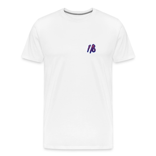 1/8 Birth Tee White - Men's Premium T-Shirt