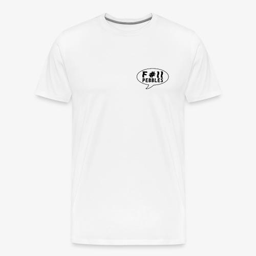 pebbles skateboarding shirt - Premium T-skjorte for menn