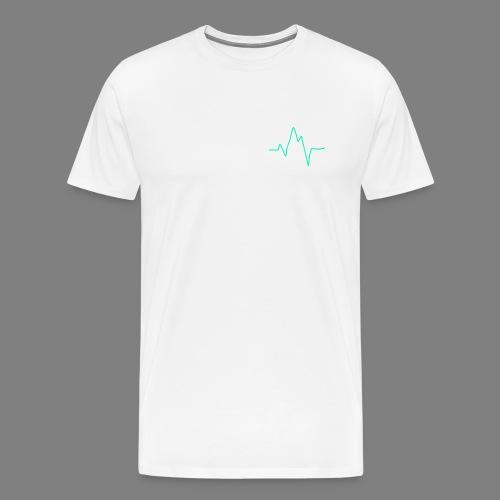 Wave zig - Männer Premium T-Shirt