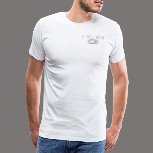 tunnel vision - Herre premium T-shirt