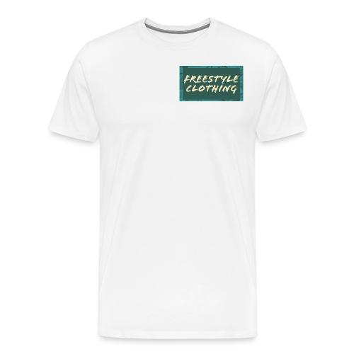 LIMITED EDITION 'Freestyle Clothing' Camo Logo - Men's Premium T-Shirt