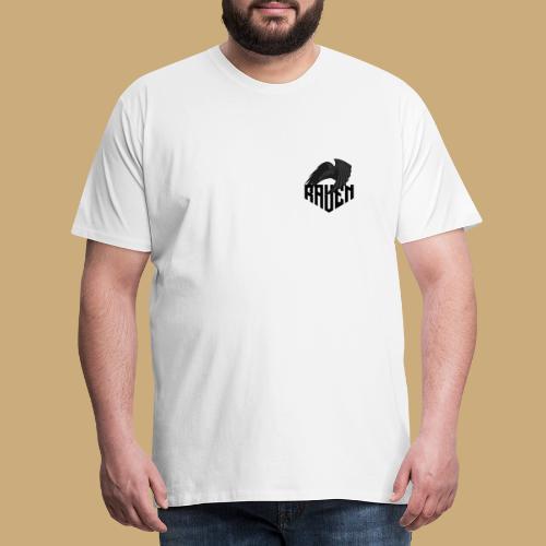 Raven Logo V3 - T-shirt Premium Homme