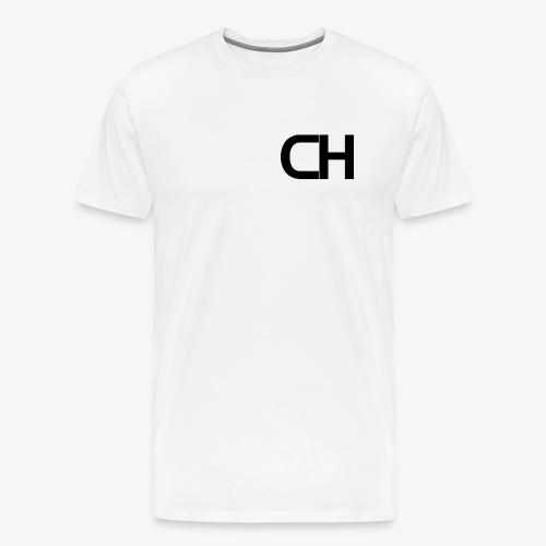 Black CH Logo. - Men's Premium T-Shirt