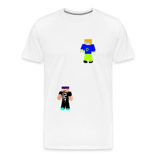 mhblakk 3D png - Männer Premium T-Shirt