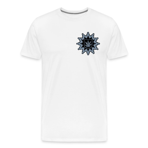 Bundeshanfschutz block pur 2farbig - Männer Premium T-Shirt