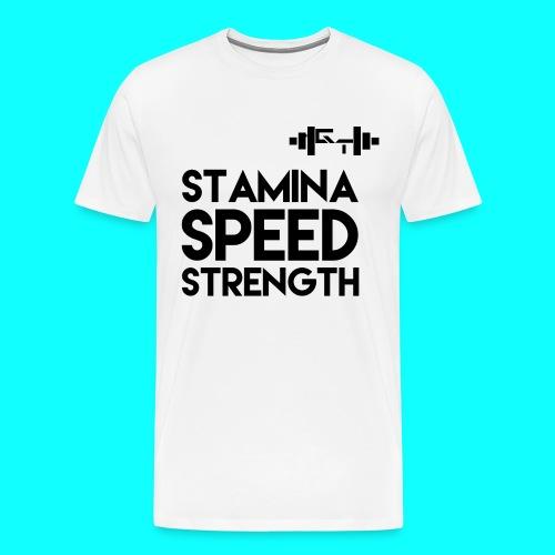 GymThirst - Men's Premium T-Shirt