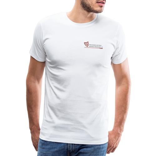 Logo bordeaux - Männer Premium T-Shirt