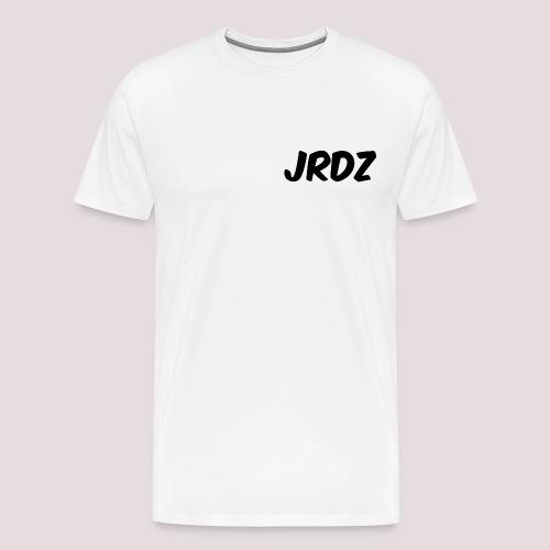 Jeardz Black Consonant Logo - Men's Premium T-Shirt