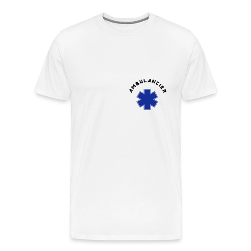ambulancier logo - T-shirt Premium Homme