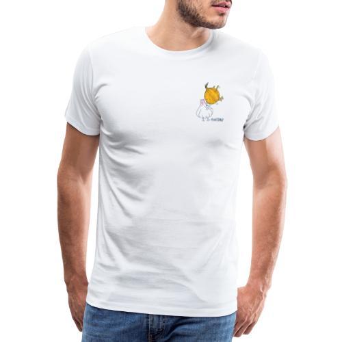 Zwiebel & Knoblauch - Männer Premium T-Shirt