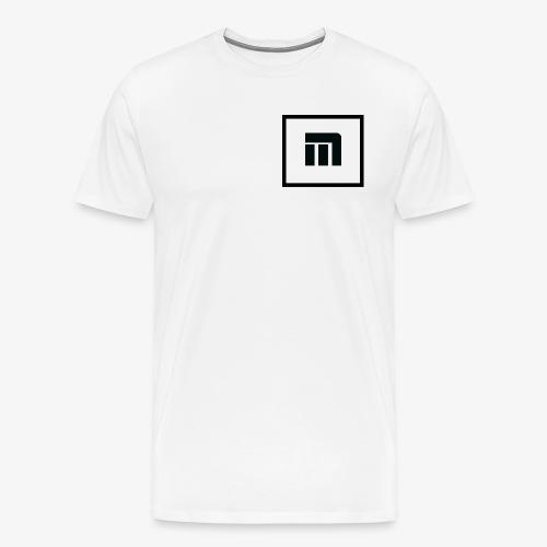 Malecka logo petit - T-shirt Premium Homme