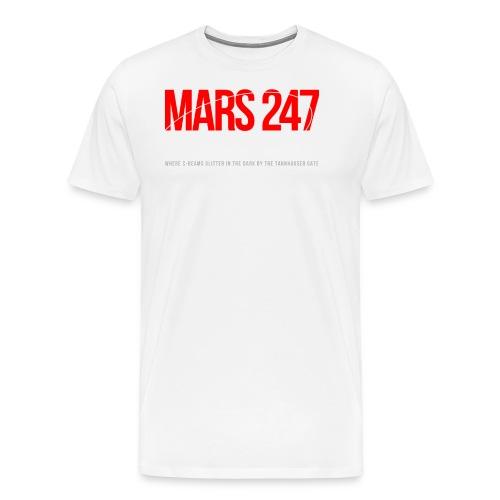 Mars 247 - Premium-T-shirt herr
