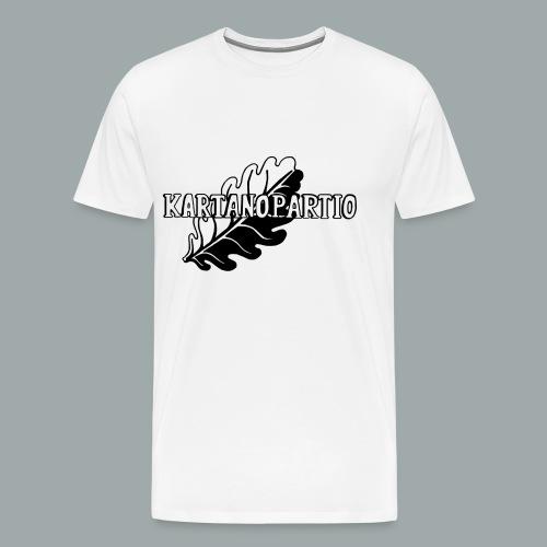 karpa logo photoshopattu - Miesten premium t-paita