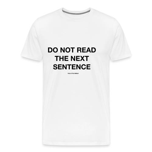 REBEL - Men's Premium T-Shirt