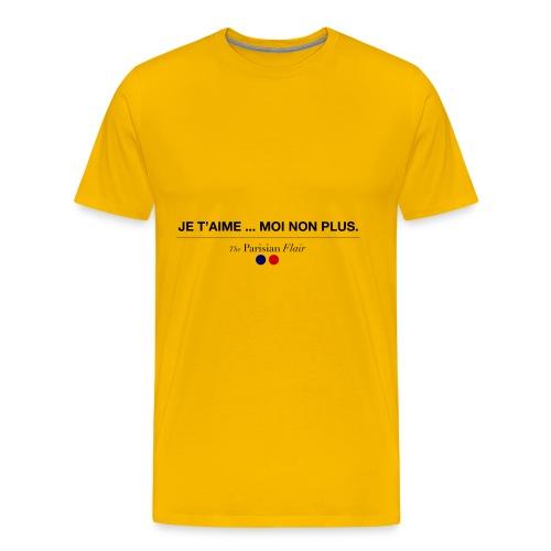 je t aime moi non plus - T-shirt Premium Homme
