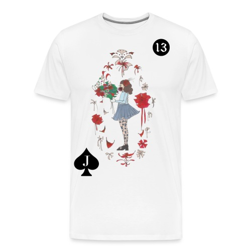 KIND IM BLOOMING LENORMAND | 13 für Neuanfänge - Männer Premium T-Shirt