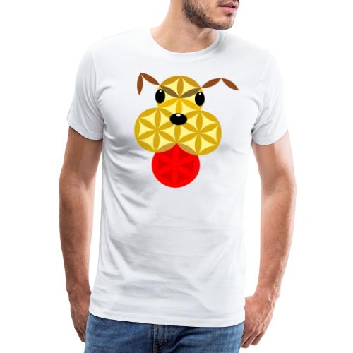 The Dog Of Life - Sacred Animals - Men's Premium T-Shirt