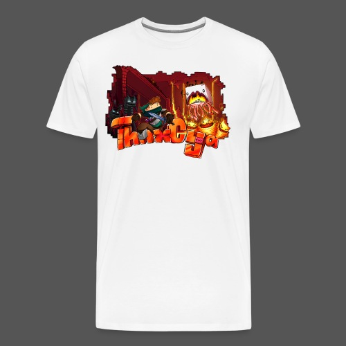 ThnxCya tshirt nether design by Jonas Nacef png - Men's Premium T-Shirt