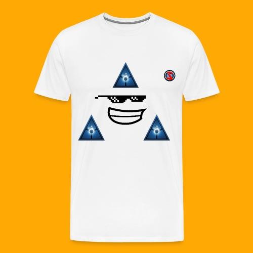 Silverhawk Gaming HD Logo - Men's Premium T-Shirt