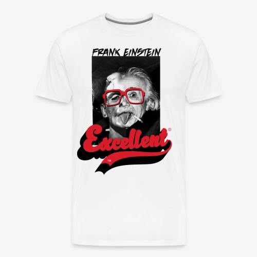 eXCELLENT Frank Einstein SPREAD png - T-shirt Premium Homme