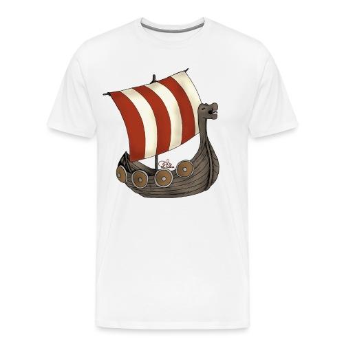 Eriks Winkingerschiff - Männer Premium T-Shirt