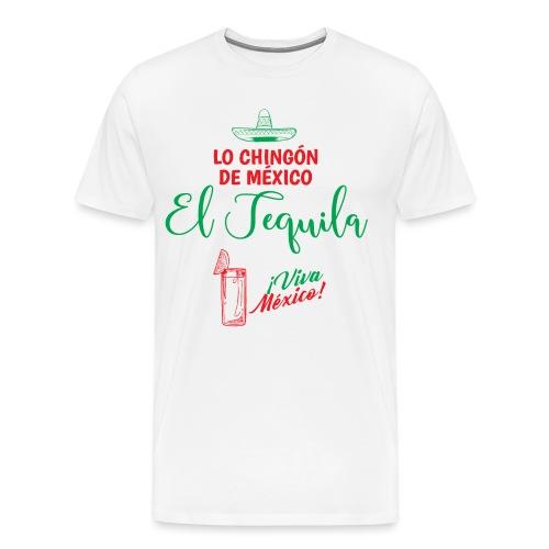 Lo Chingón de México - Camiseta premium hombre