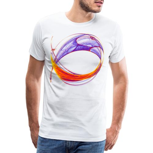Watercolor art graphic painting picture chaos 13813bry - Men's Premium T-Shirt