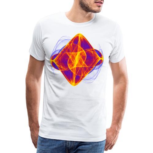 Aquarell Kunstgrafik Gemälde Bild Chaos 6769bry - Männer Premium T-Shirt
