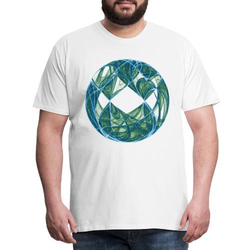 Harmonie im Ozean der Elemente 446oce - Männer Premium T-Shirt