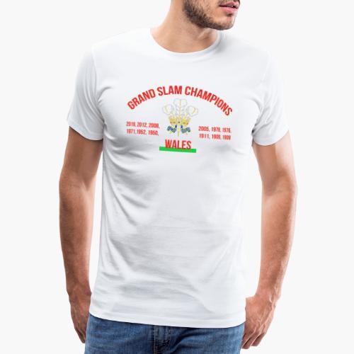 Wales Grand Slam - Men's Premium T-Shirt