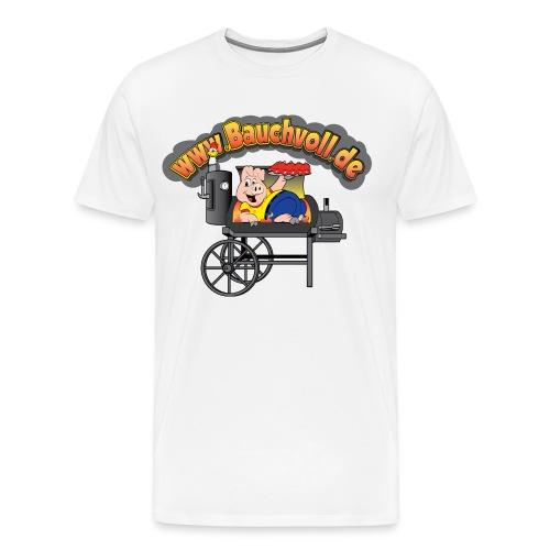 Die Ideale Schürze zum Kochen! - Männer Premium T-Shirt