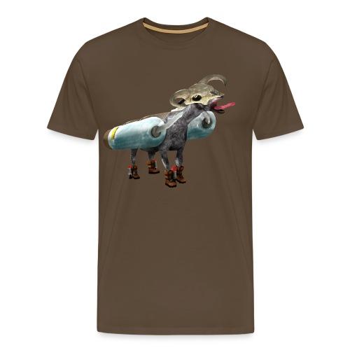 screaminggoatdeluxe2 - Men's Premium T-Shirt