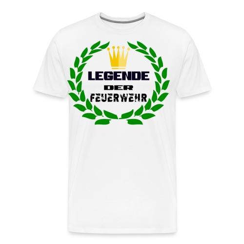 Legende der Feuerwehr - Männer Premium T-Shirt