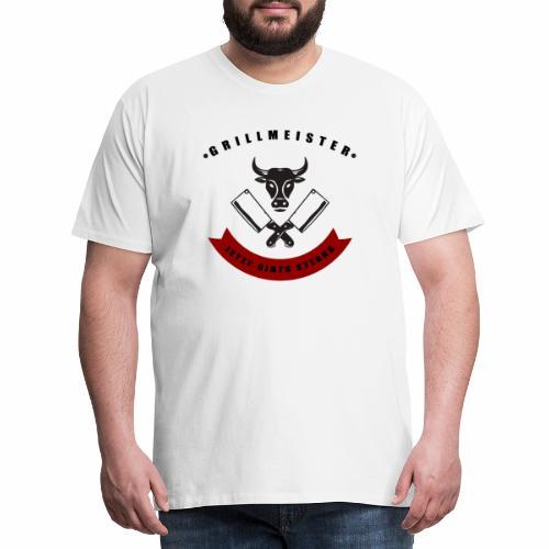 GRILLMEISTER Jetzt gibts Steaks tshirt - Männer Premium T-Shirt