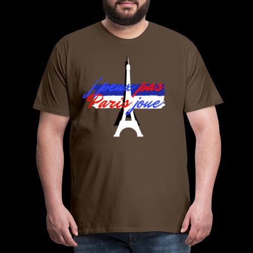 j'peux pas Paris joue foot france - T-shirt Premium Homme