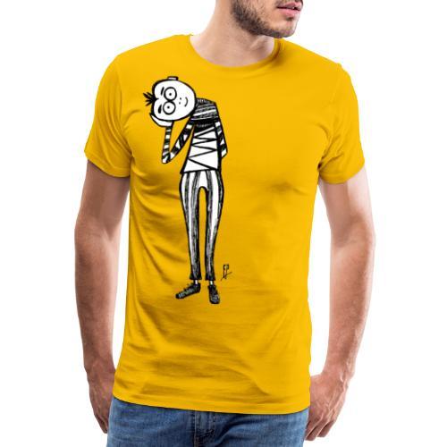 Punto di vista in bianco e nero - Maglietta Premium da uomo