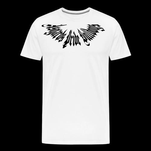 Stachelhalsband Schwarz - Männer Premium T-Shirt